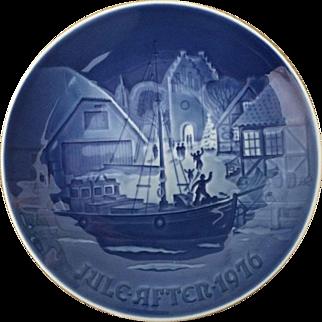 1976 Bing and Grondahl Christmas Plate