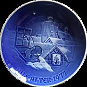 Bing and Grondahl 1977 Christmas Plate