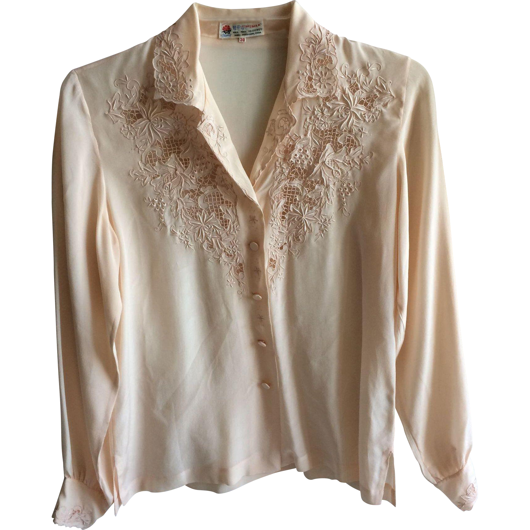 Silk Blouse Long Sleeve