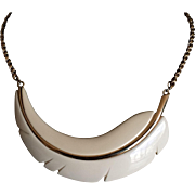 Vintage Givenchy stylized collar necklace