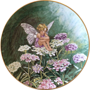 Vintage Heinrich Villeroy and Bosh The Candytufy Fairy Plate