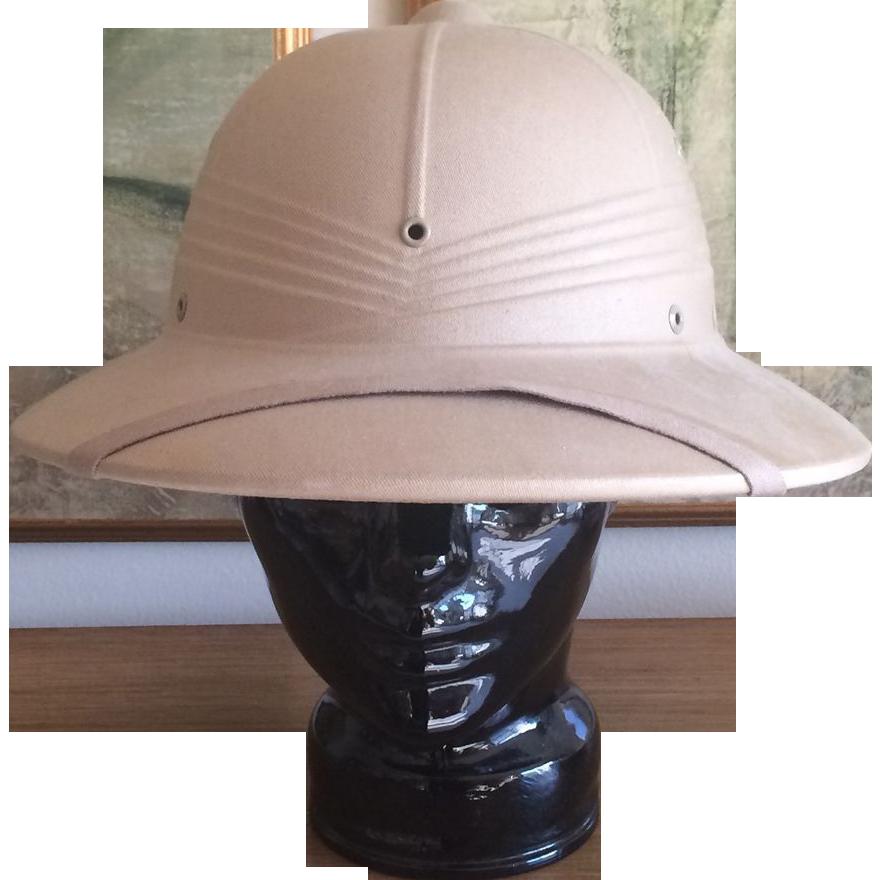 Vintage Pith Helmet from basinger on Ruby Lane