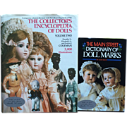 Vintage Out of Print and First Editions Doll Reference Books 2