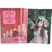 Vintage Out of Print Doll Reference Books bisque and half Bisque Dolls and French Doll Price Guide