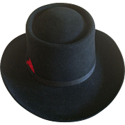Vintage black Resistol 4X beaver Western hat