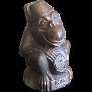 Vintage KoKo metal monkey bank