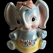 Vintage Baby Elephant Flower Vase for Baby