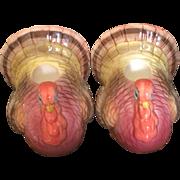 Vintage Otagiri of Japan turkey candle holders