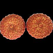 2 Vintage decorative Japanese pincushions