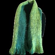 Vintage Jacqmar mohair scarf