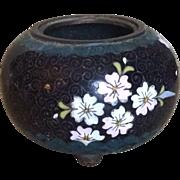 Vintage miniature cloisonne jardiniere