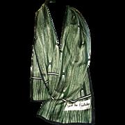 Vintage Diane Von Furstenberg Silk Scarf