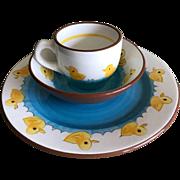 Stangl Pottery Little Quackers 3 piece dish set