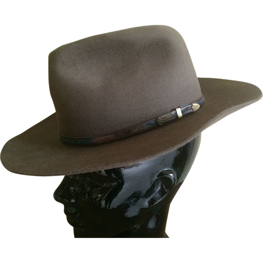 SALE Iconic Outback Australian Felt Hat by Akubra SALE
