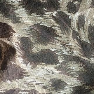 Vintage silk Anne Klein animal print scarf