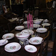 Complete Set Of Deco Dishes