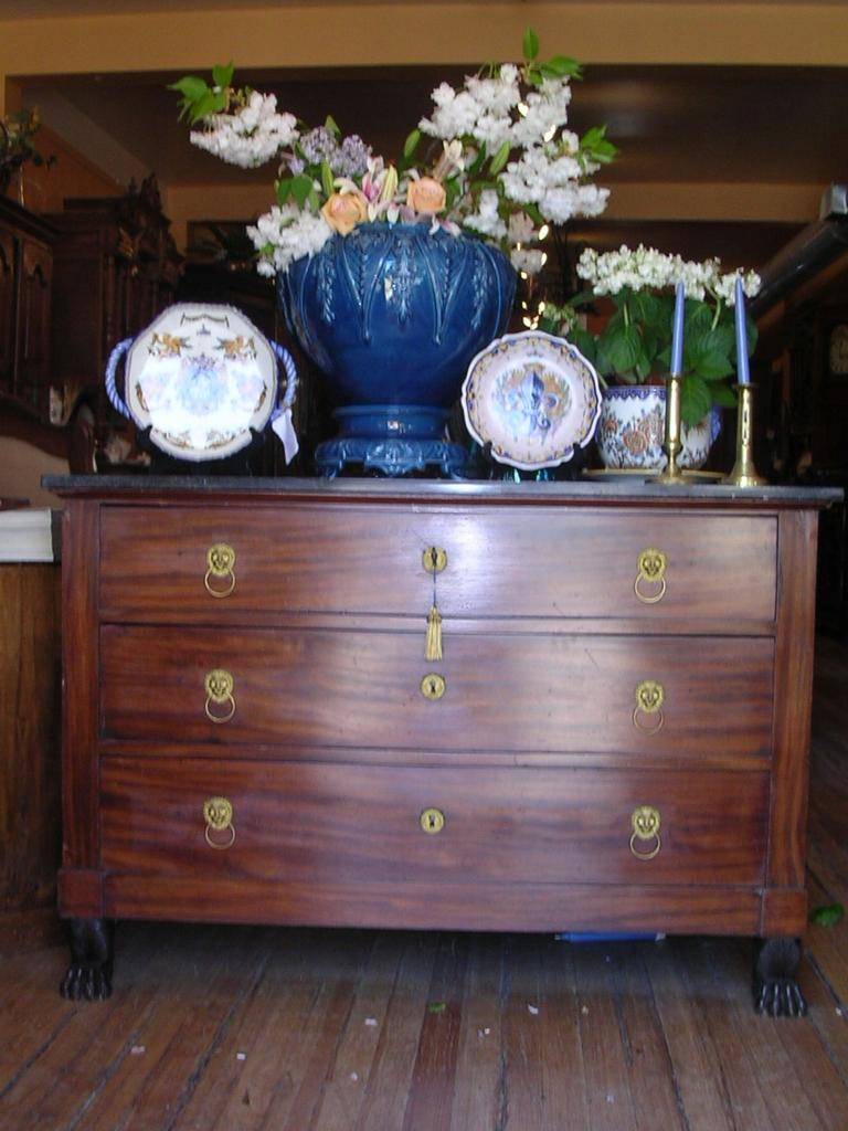 Empire Commode/ Chest of Drawers