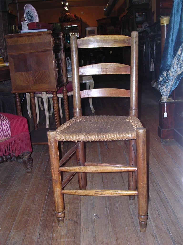 Set of 4 French Country chairs