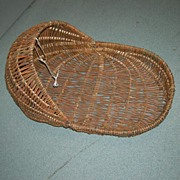 Handmade Wicker Baby/Doll Bed