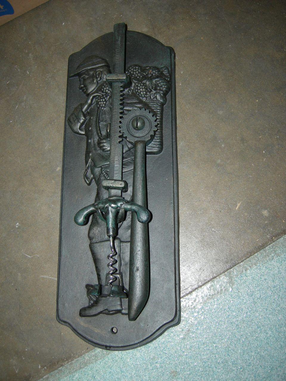 Cast Iron Cork Screw