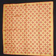 Charming Sunny 'Button Button' VERA Ladybug Square Scarf