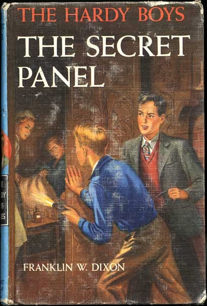 a dissertation on the book the hardy boys the secret panel Another exciting mystery begins for frank and joe when they help a stranger  who has had an  hardy boys 25: the secret panel by franklin w dixon   category: children's middle grade mystery & detective books | children's middle  grade.