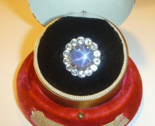 Vintage Natural Star Sapphire Ring