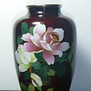 Vintage Japanese Cloisonne Vase