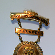 Vintage Woodmen of the World Medal