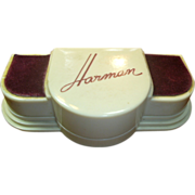 Vintage Art Deco Harman Watch Case