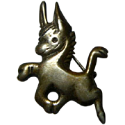 Vintage Mexican Silver Pin
