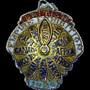 1924 British Empire Pin