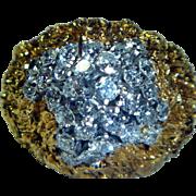 Vintage 14 K Gold & Diamond Ring
