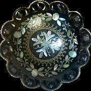 Antique Pique Brooch