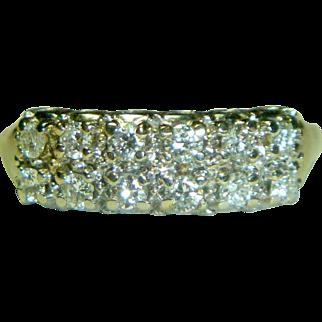 Vintage White Gold & Diamond Ring