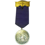 Antique Knights of The Golden Eagle Fraternal Medal