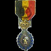 Antique Belgian Medal