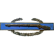 A U S Army Combat Infantryman Badge in Sterling Silver