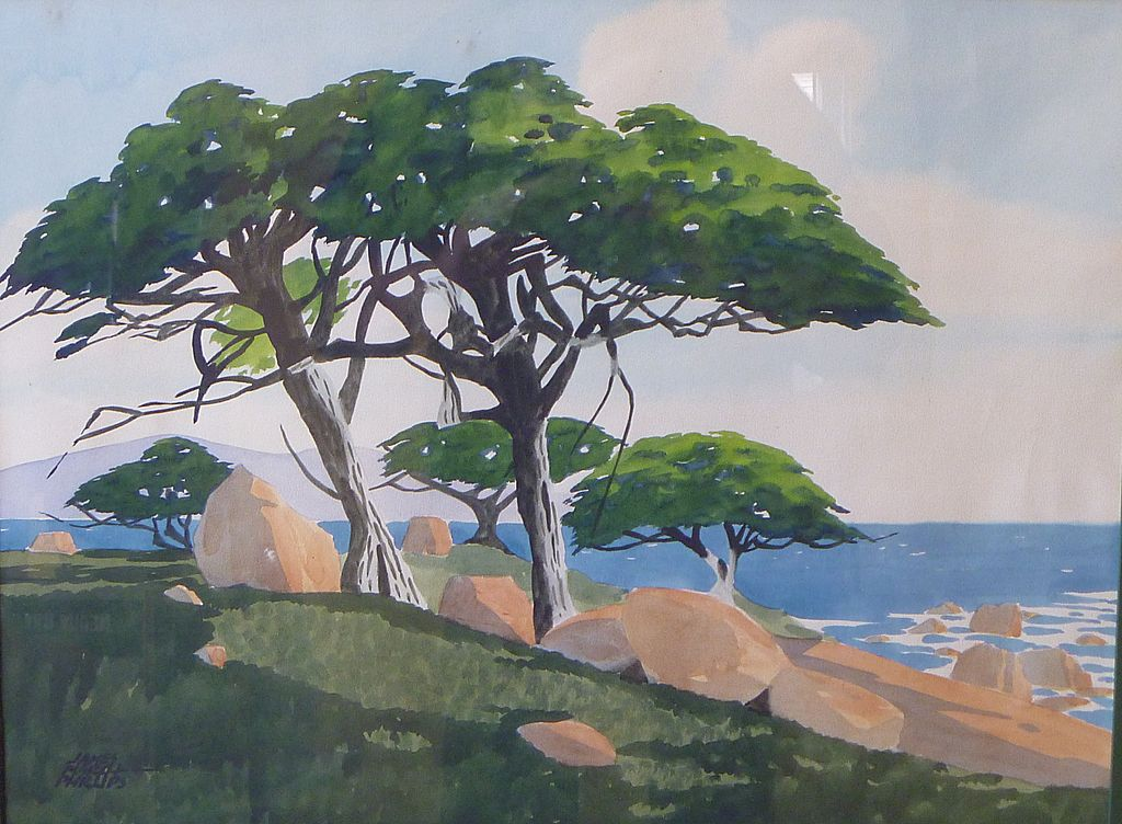 Watercolor by James March Philips