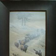 Print by Edwin Douglas