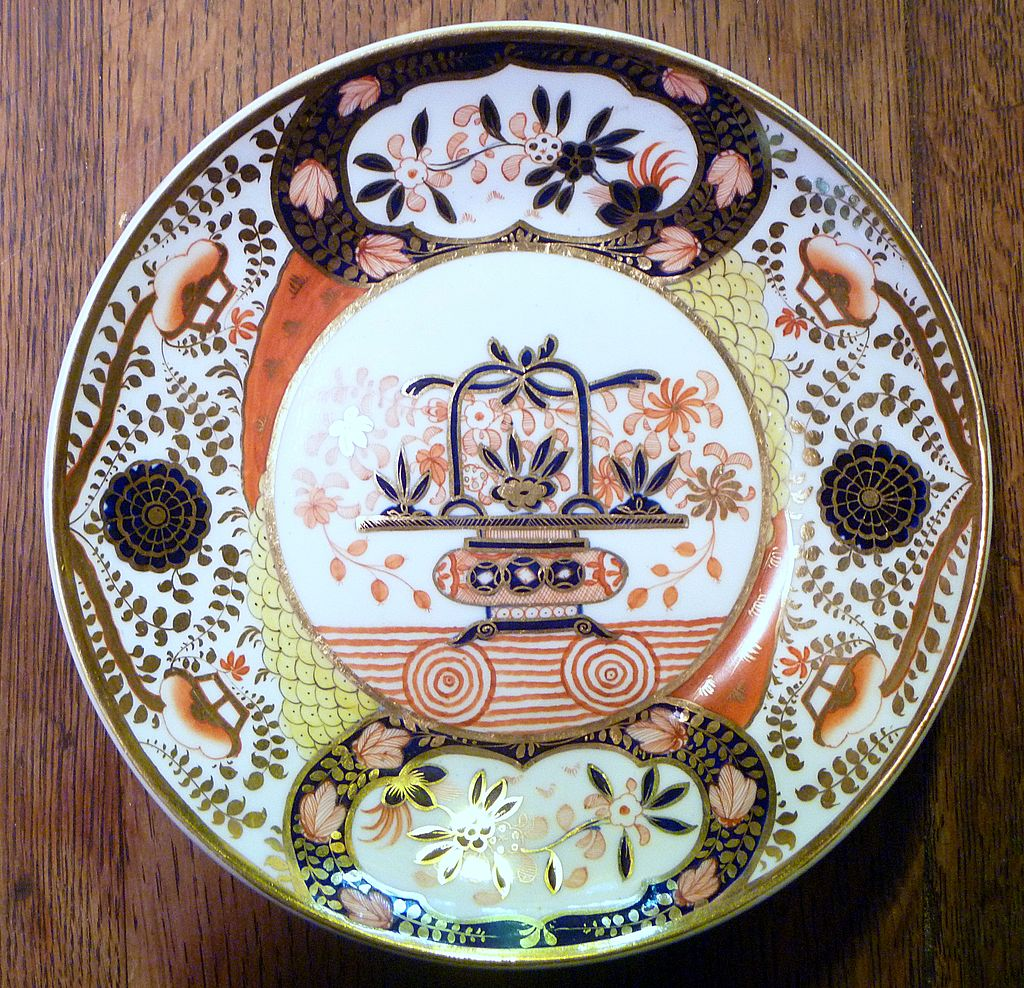 Antique Georgian Spode Imari Dish