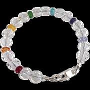 Swarovski Crystal - Chakra Bracelet