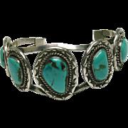 Native American Turquoise Cuff