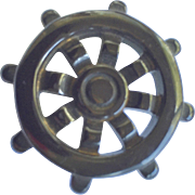Bakelite Ship's Wheel