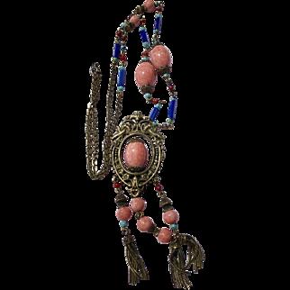 Fantastic Old Czech Necklace