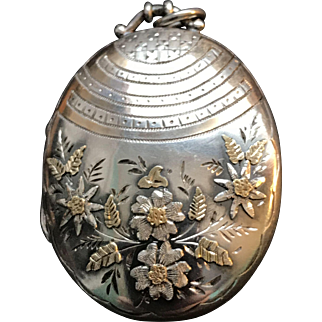 Victorian Sterling Aesthetic period Locket