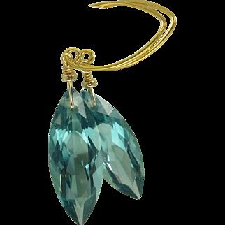 Prasiolite & 24k Gold Vermeil Earrings