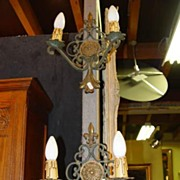 Pair of French Iron Sconces