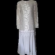 Ursula of Switzerland Dress with Lace and Chiffon