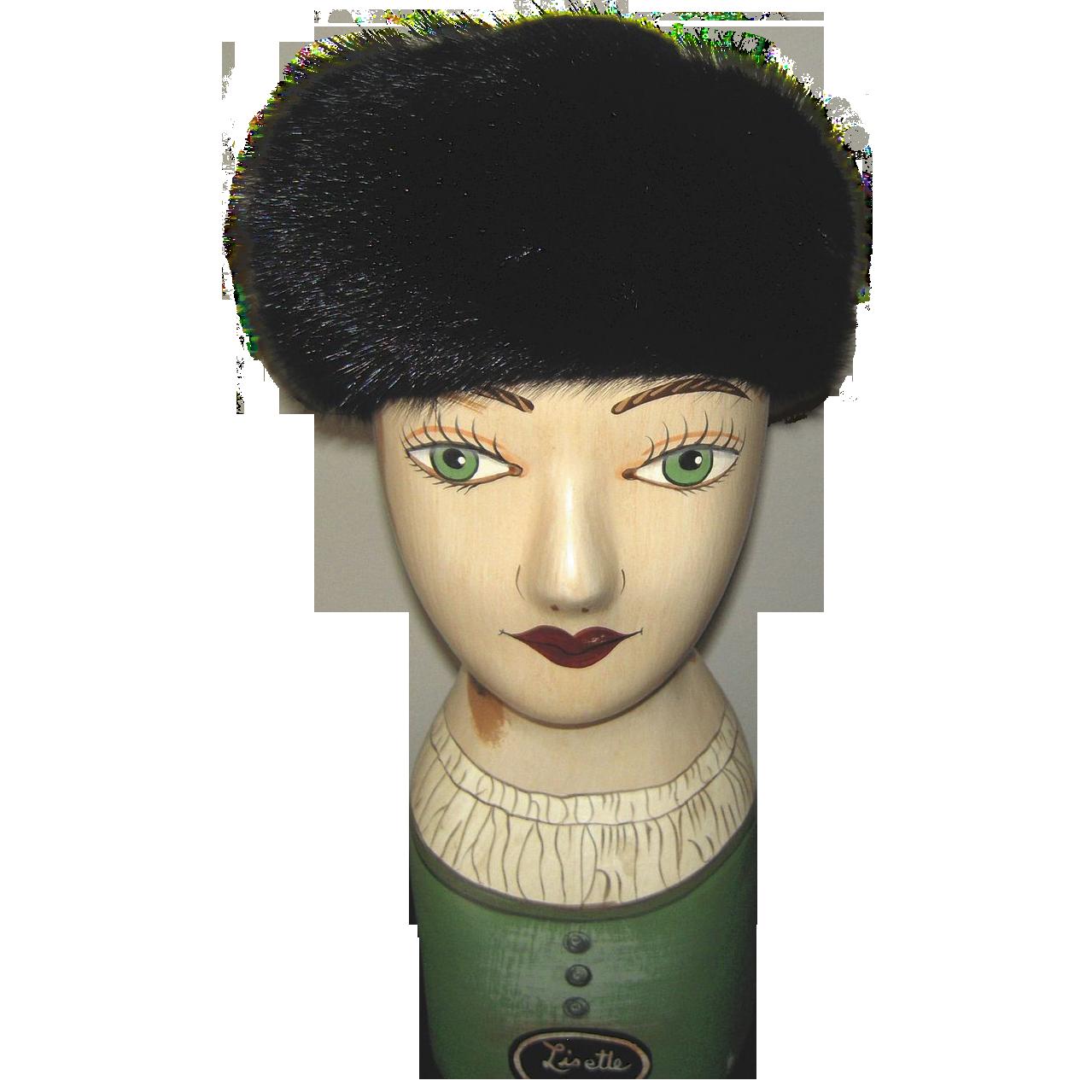 Vintage Fur Hat 14